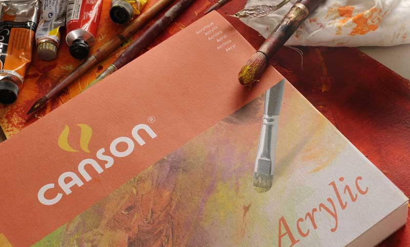 Canson Acylic Painting Paper 400g 10 Sheets France