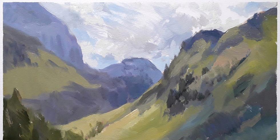 Oil Painting with Nicolas Sage
