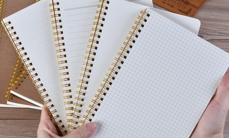 A5 Notebook Journal Grid Dot