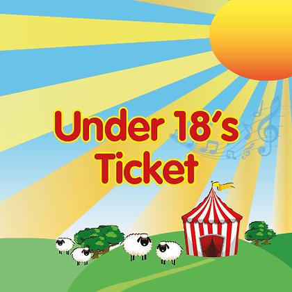 Under 18's Ticket