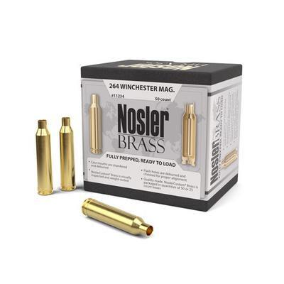 264 Winchester Mag Nosler Brass