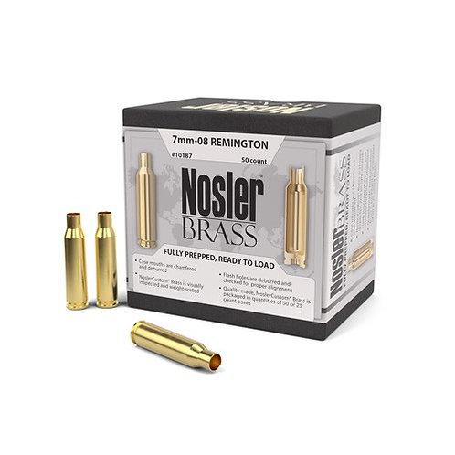 7mm-08 Remington Nosler Brass