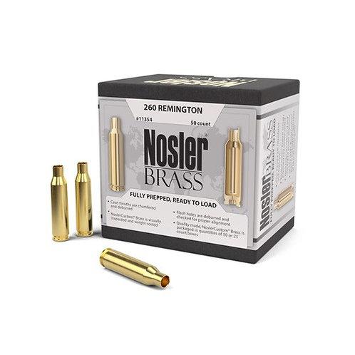 260 Remington Nosler Brass