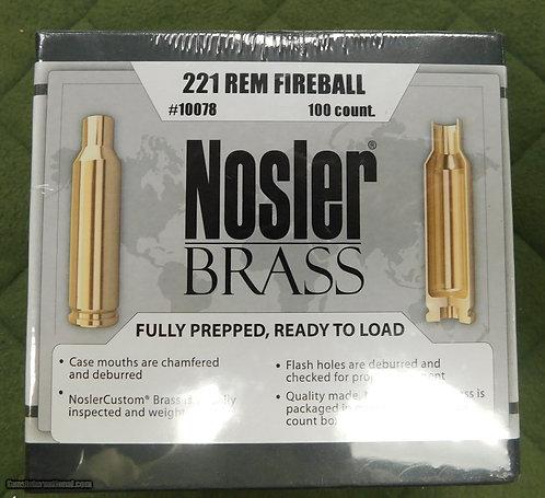 221 Rem Fireball Nosler Brass