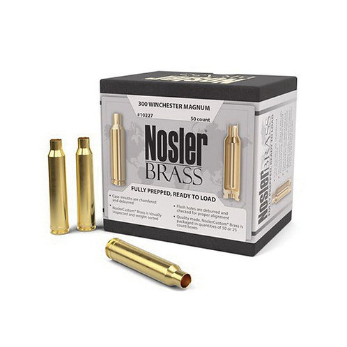 300 Winchester Mag Nosler Brass