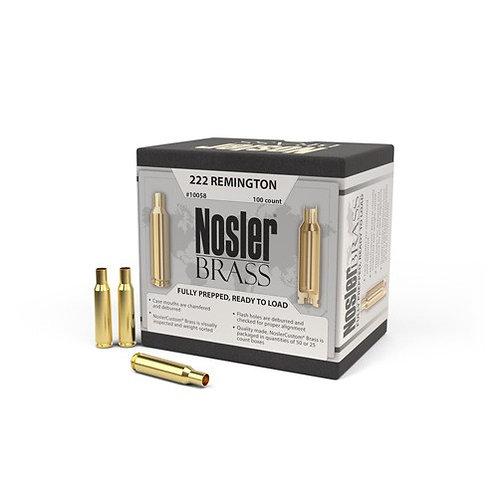 222 Remington Nosler Brass