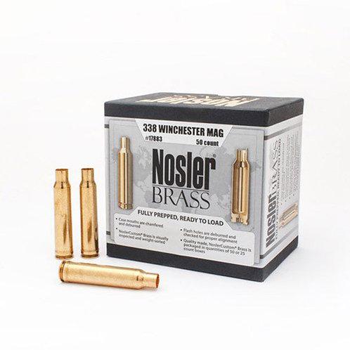 338 Winchester Mag Nosler Brass