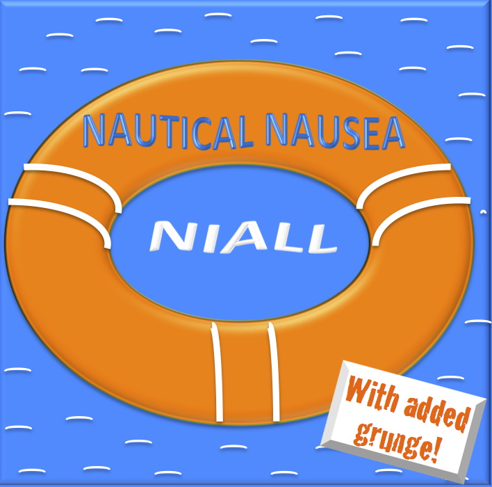 Nautical Nausea Niall album cover