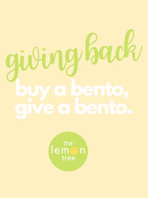 Donate a Bento