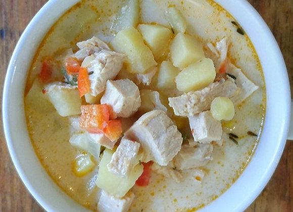 Chipotle Chicken Corn Chowder