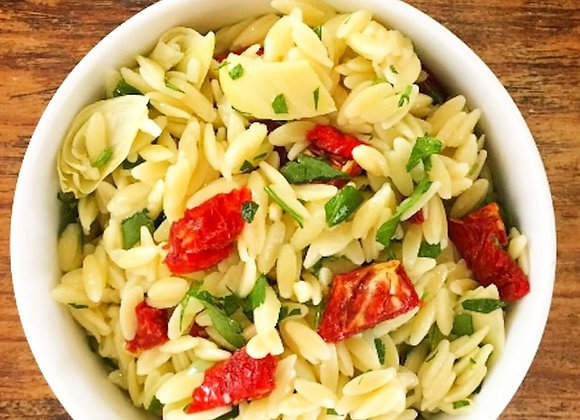 Quart of Lemon Orzo Pasta Salad