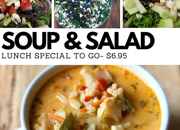 Soup & Salad Special