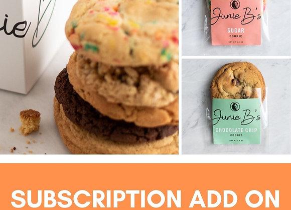 Junie B Cookies - Box of 4 (Add on)