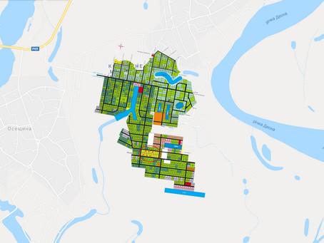 Инфраструктура коттеджного городка