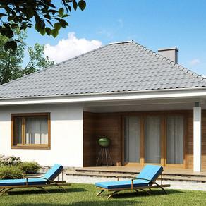 Комфорт класс – проект тёплого загородного дома по доступной цене