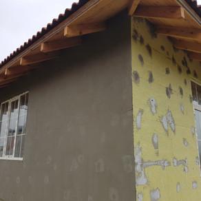 Утепление фасадов. Экономия на отоплении
