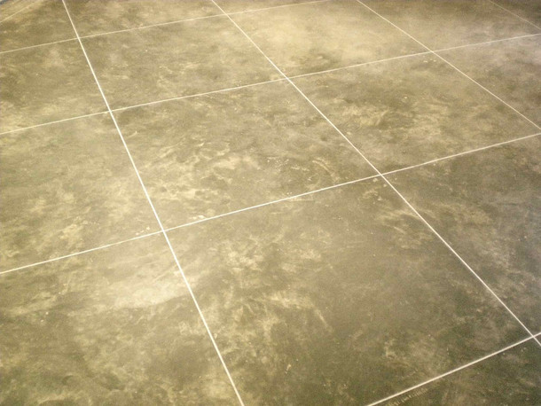 Concrete ceramic tile