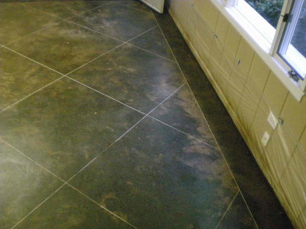 Concrete granite tile