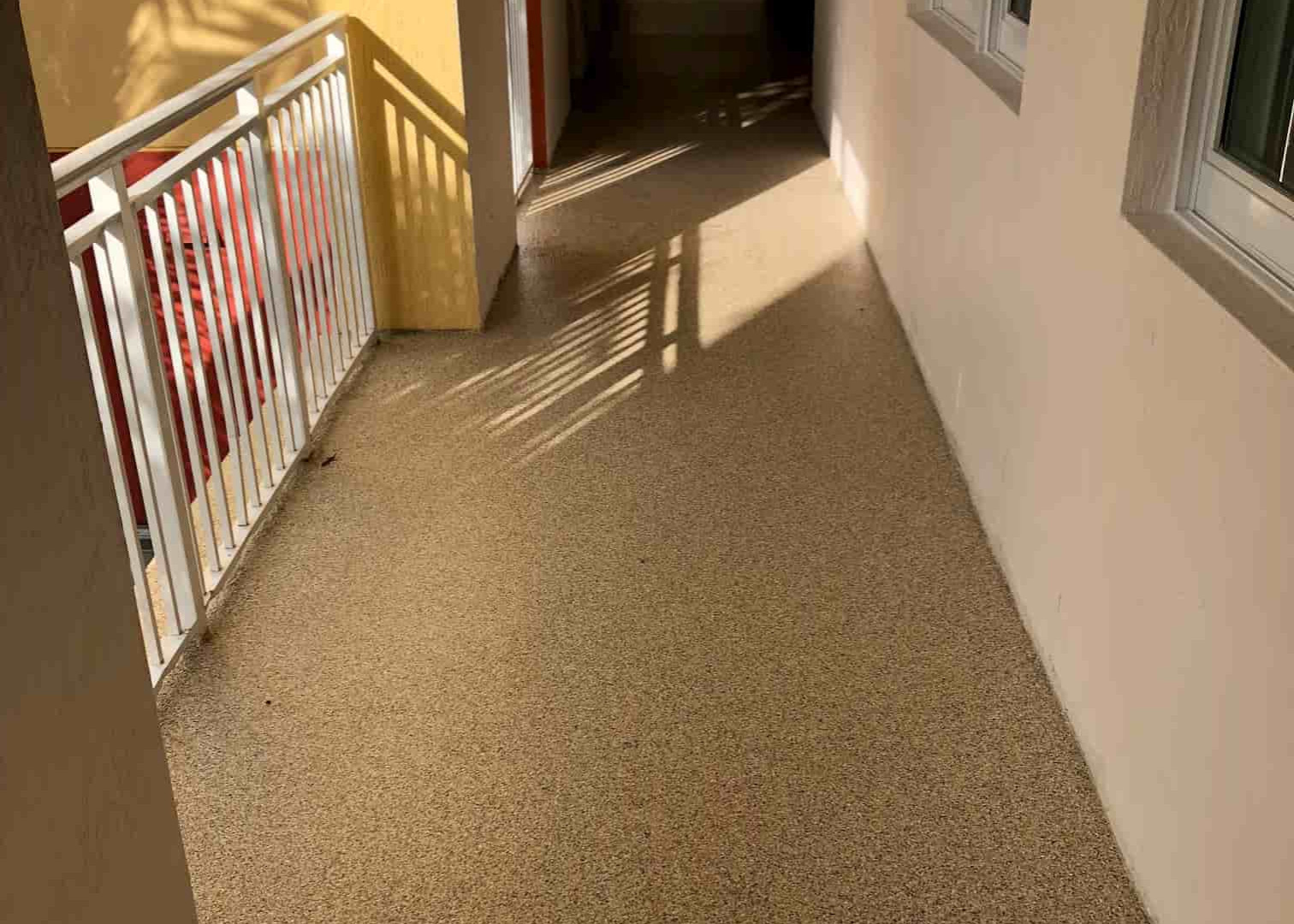 Transition cooridors & hallways
