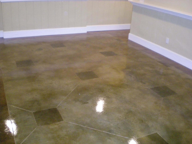 Concrete decorative tile