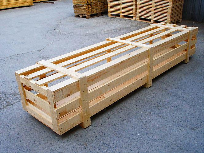 деревянный ящик для перевозки