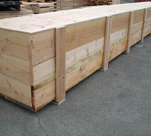 деревянные ящики для оборудования
