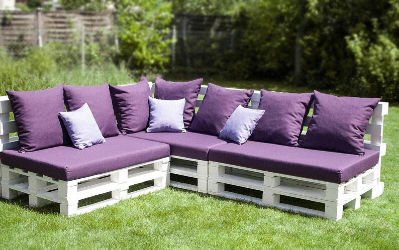 "Комплект мебели из поддонов ""Три дивана"" /арт. MП-002/"