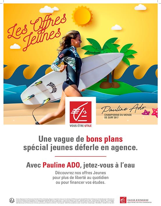 Pauline Ado Caisse Epargne