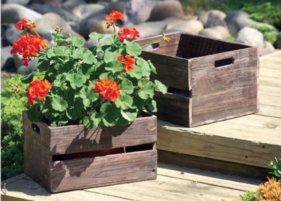 деревянные ящики для цветов