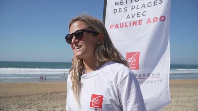 Pauline Ado x Caisse d'Épargne