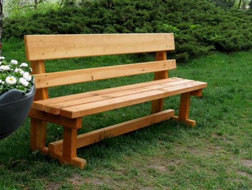 Скамейка из дерева  /арт.1310/