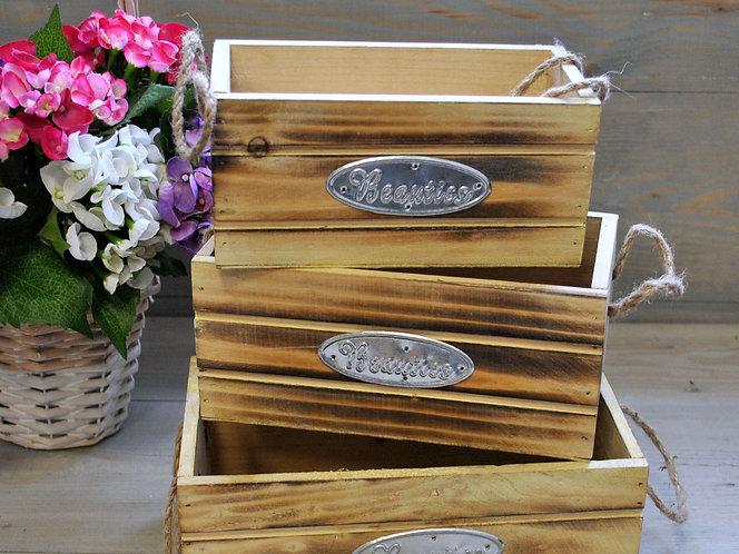 Ящик для упаковки декоративный /арт. 3Y-430/