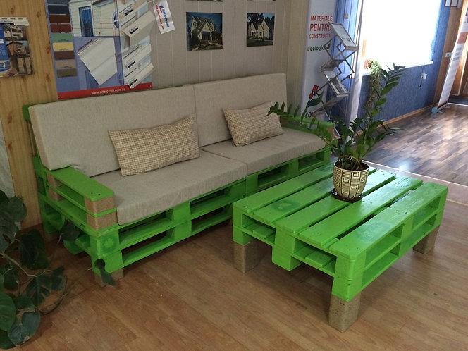 Комплект мебели из паллет для дома и кафе /арт. MП-022/