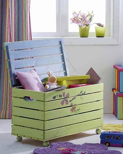 ящик для игрушек деревянный с крышкой