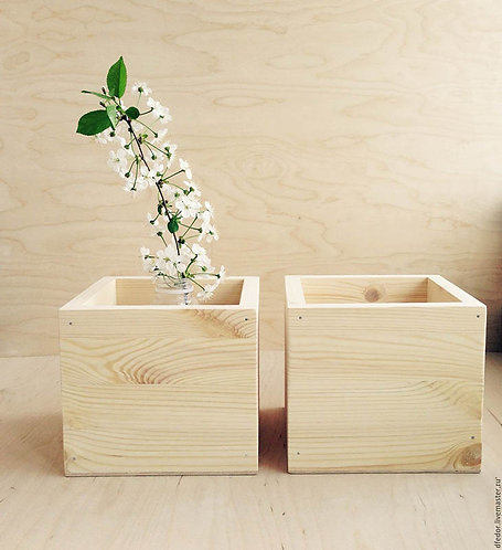 деревянная коробка ящик