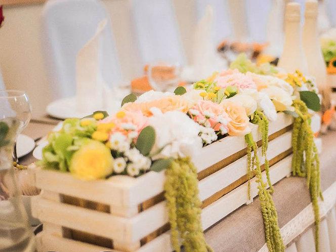 цветочный ящик деревянный