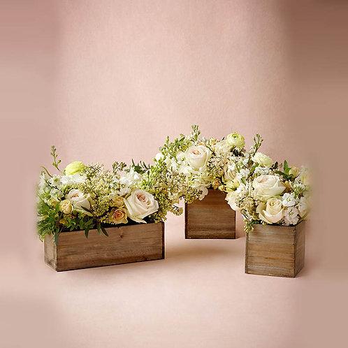 декоративные ящики из дерева