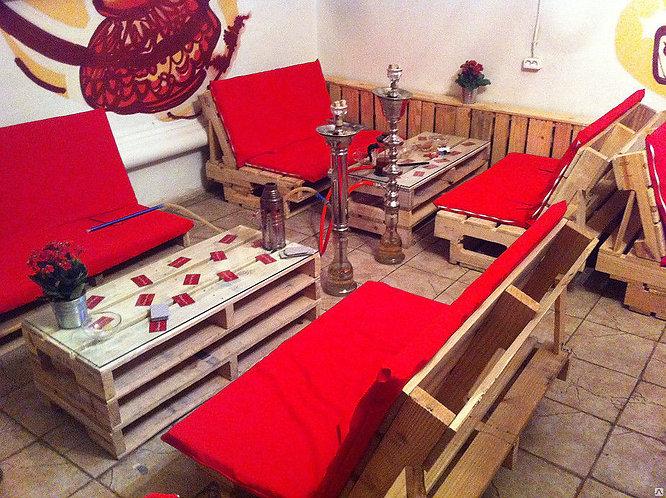 Мебель из паллет для кафе /арт. MП-019/