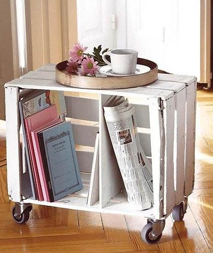 ящик деревянный для книг
