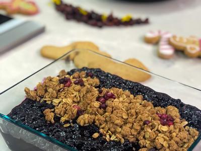 Pete's Blueberry-Ginger & Thyme Crisp
