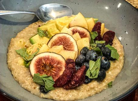 Fig & Avocado Oatmeal