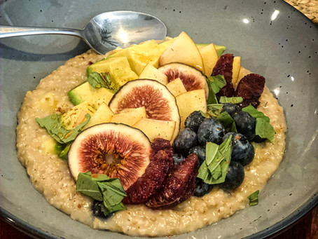 Fig & Avocado Oatmeal