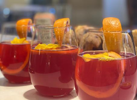 Hibiscus Mango Orange Aperol Spritz