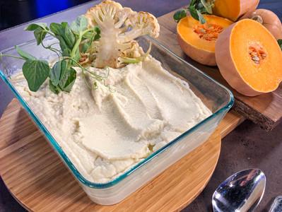 Creamy Cauliflower Mash with Tofu