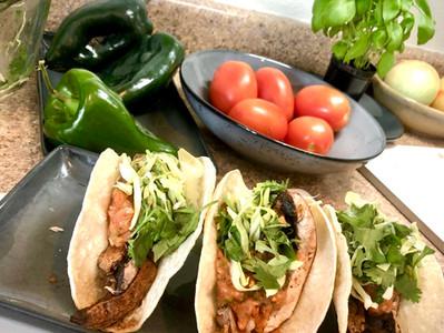 Portobello Asada Tacos