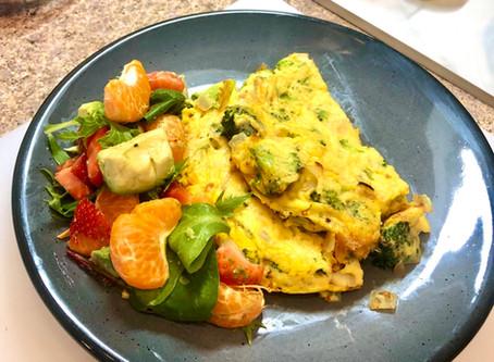 Vegan Broccoli Frittata