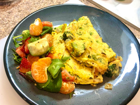 Vegan Broccoli Frittata