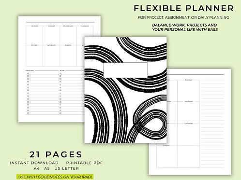 Project Planner   Printable   Digital Download