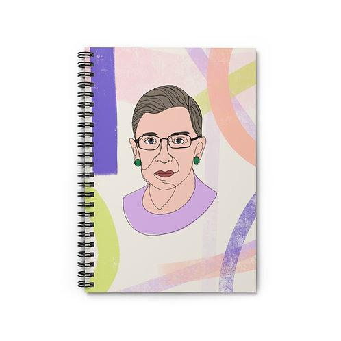 Rbg   Spiral Notebook - Ruled Line