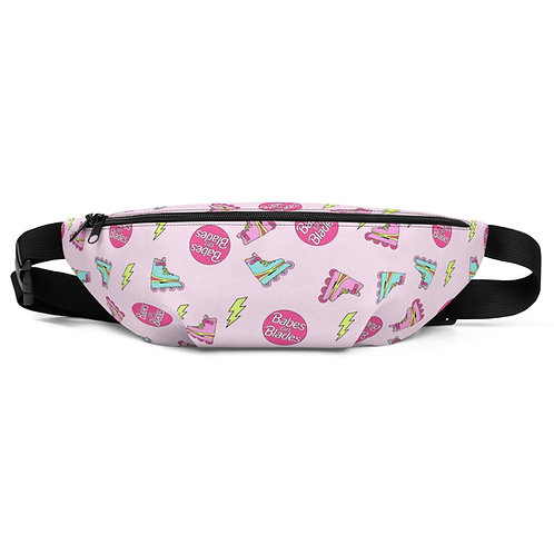 Babes on Blades Pink Fanny Pack
